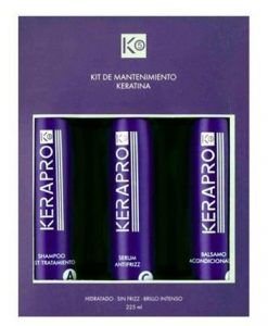Kativa KeraPro 5 Kit straightening maintenance at home